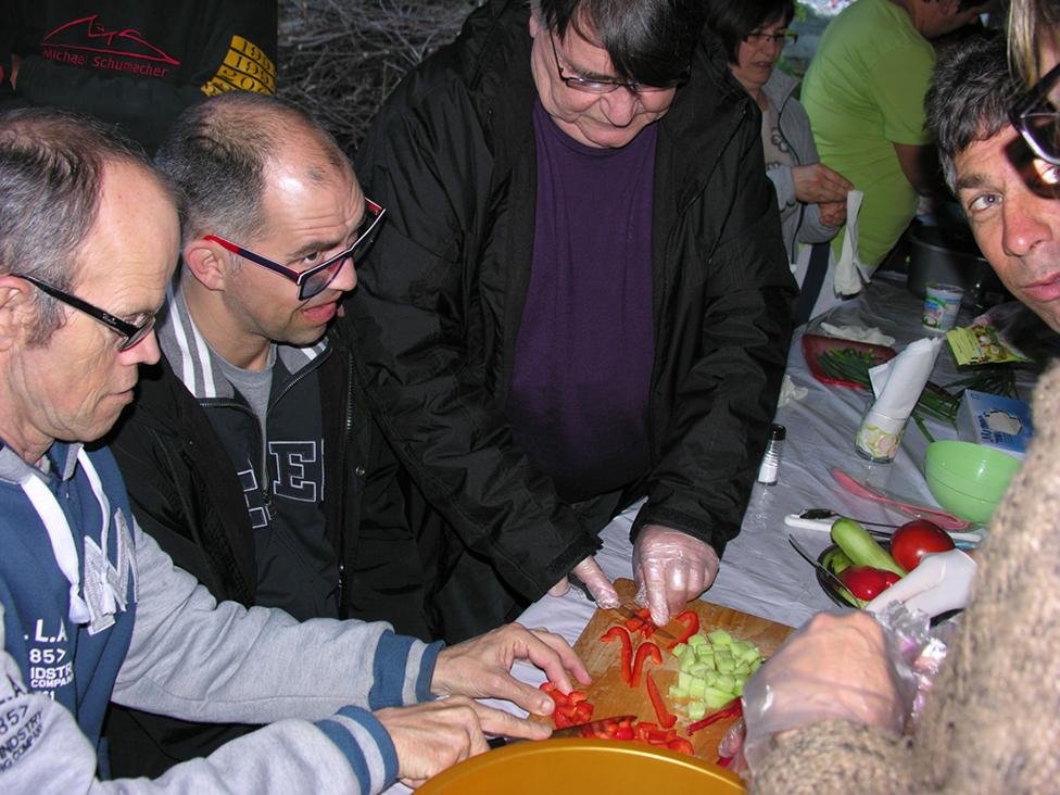 preparation salades