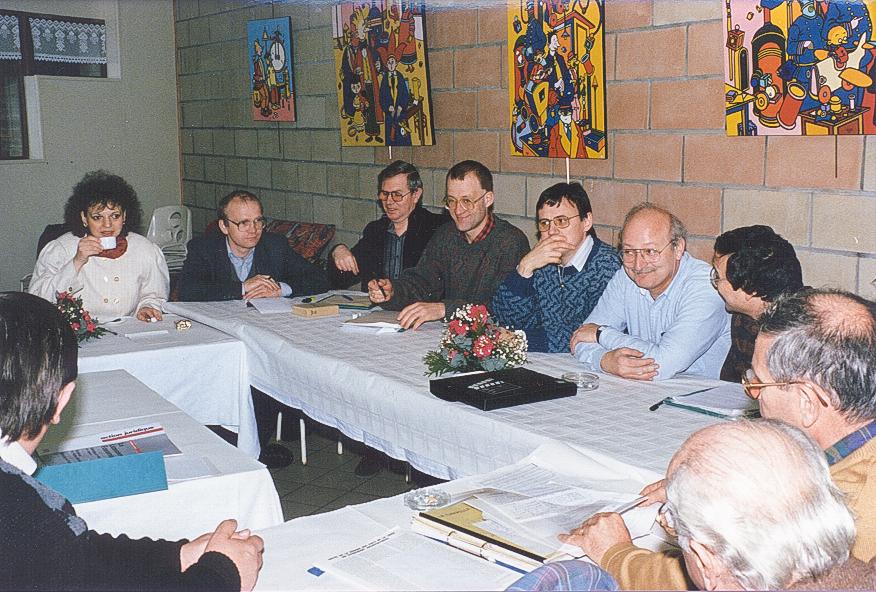 1991 séjour de 9 fonctionnaires du ministère du travail
