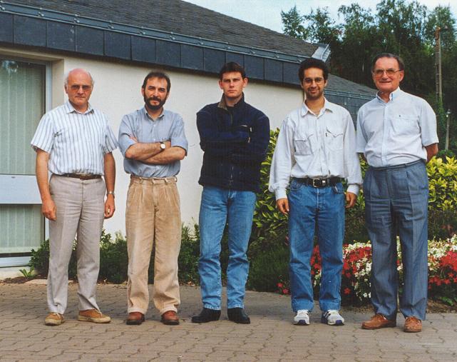 1994 deux étudiants du lycée Monge effectuent un stage en Pologne