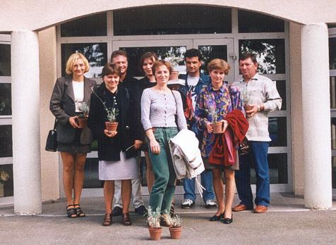 1998 séjour d'une délégation de la maison de l'entraide