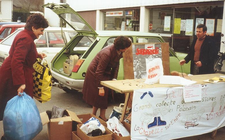 1983 collecte dans les quartiers